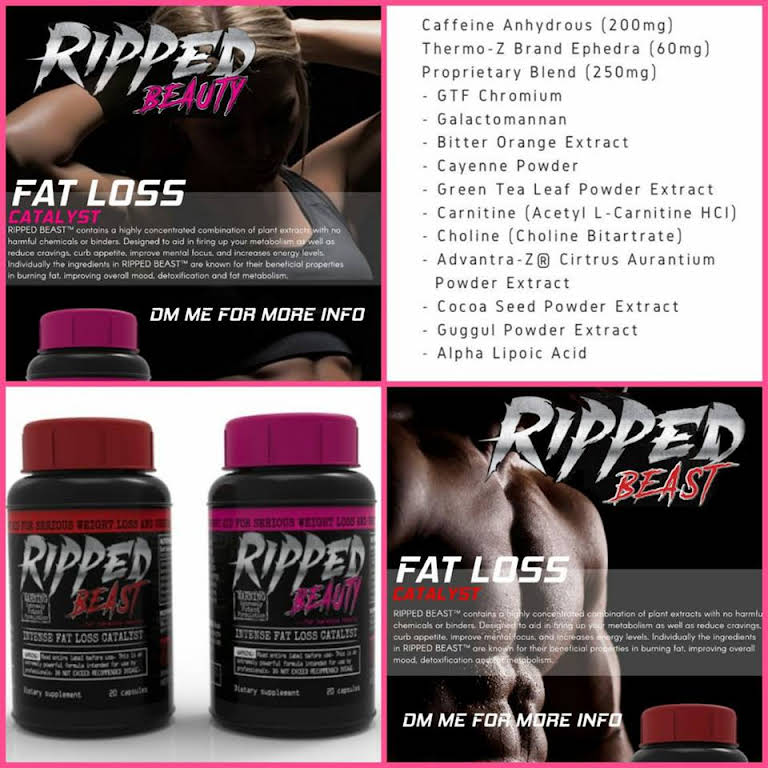 ripped beauty fat burner review